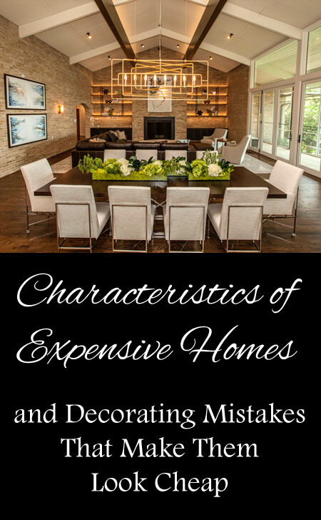 characteristics expensive homes 450