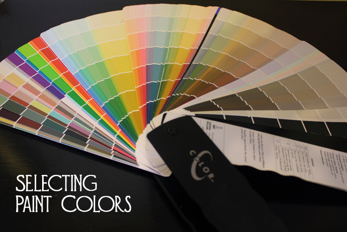 Selecting Paint Colors