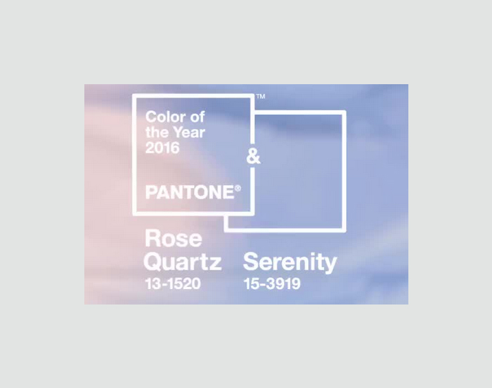Pantone's Color(s) of the Year 2016