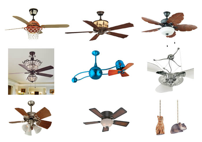 ceiling fans to avoid